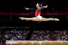 Asuka Teramoto of Japan competes on the balance beam in the Artistic Gymnastics Women's Individual All-Around final on Day 6 of the London 2012 Olympic Games at North Greenwich Arena on August 2, 2012 in London, England.