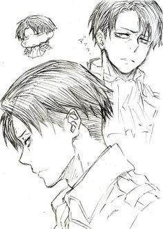 Nota: el rostro de Levi está al estilo de Mephisto Pheles.