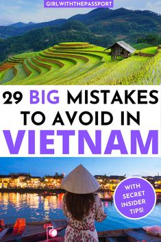 Want some SECRET Vietnam travel tips? Then read this expert's guide! It has 28 AMAZING traveling in Vietnam tips that you won't find in most travel guides! Luang Prabang, Thailand Travel, Asia Travel, Travel Abroad, Visit Vietnam, Hanoi Vietnam, Laos, Travel Guides, Travel Tips