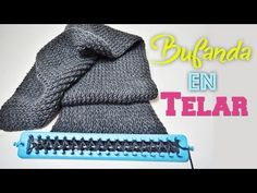 COMO TEJER EN TELAR RECTANGULAR - TUTORIAL PASO A PASO | Danii's Ways ♡ - YouTube Tear, Crochet Scarves, Loom Knitting, Beanie, Diy, Accessories, Youtube, Inspiration, Fashion