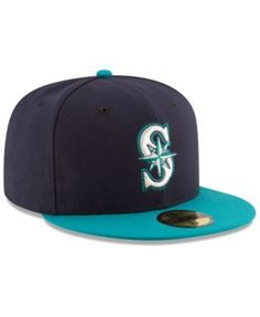 info for 71d14 bb710 New Era Seattle Mariners Authentic Collection 59FIFTY Cap - Blue 6 7 8