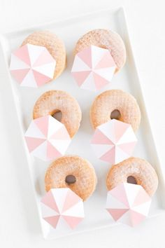 Umbrella donuts. Too