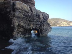 Apothika is a lovely beach of Chios.You can enjoy the clean waters and you can go cannoeing to admire all the hidden caves. Chios Greece, Greek, Island, Caves, Beaches, Travelling, Outdoor, Beautiful, Outdoors