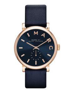 MARC BY MARC JACOBS Women's Wrist watch Dark blue -- --
