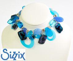 Plastic charm bracelet