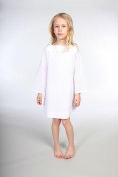 Natty | Girls' Eyelet Shift Dress