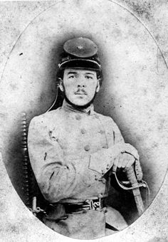 "Civil War Casualty - Lt. Laurence M. ""Laurie"" Anderson (? - Apr. 18, 1862) was a member of the Bradford Light Infantry, Co. A, Florida Battalion. He died at the Battle of Shiloh."