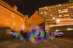 Farbenspiel – Lightpainting