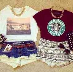 love everything about these outfits
