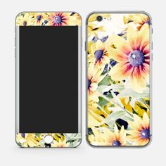 YELLOW FLOWERS iPhone 6 Skins Online In india #mobileSkins #PhoneSkins #MobileCovers #MobileCases http://skin4gadgets.com/device-skins/phone-skins