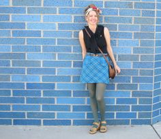 Many shades of blue