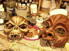 Inside the Goblin Art Studio: maskmaking