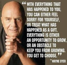 Grow from your experiences.