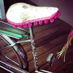 Bells, Baskets   Bling! 10 DIY Bike Accessories with #pom #fringe