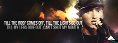 Eminem Till The Roof Facebook Covers