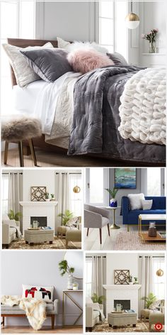 Blankets And Throws : Target Dream Rooms, Dream Bedroom, Teen Room Decor, Bedroom Decor, Bedroom Ideas, Dorm Room Designs, My New Room, Interior Design Living Room, Bedroom Colors