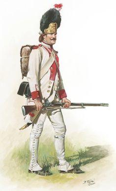 • French Grenadier of the Regiment Soissonnais -1781
