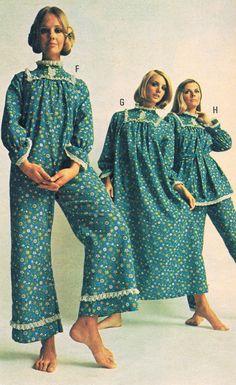 Penneys catalog 1968.  Cay Sanderson, Linda Gauche and Joanne Vitelli.