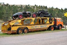 Big Boys Tonka Toy trailer. WOW!