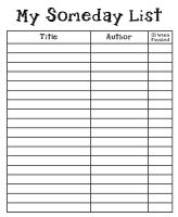 library book list template