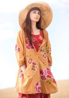 """Taiteilijanpusero """"Florencia"""" puuvillaa/silkkiä – Uutuudet – GUDRUN SJÖDÉN - vaatteita verkossa ja postimyynnissä"""