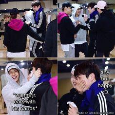 GOT7 reunite with Jr. <3 My Jinson feels tho! <3   allkpop Meme Center