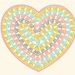 New Crochet Granny Square Heart Pattern Yarns Ideas Crochet Diy, Crochet Motifs, Crochet Diagram, Crochet Chart, Crochet Squares, Love Crochet, Crochet Flowers, Crochet Stitches, Granny Squares