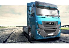 Big Rig Trucks, Rc Trucks, Dragon Pictures, Truck Design, Busses, Exterior Design, Industrial Design, Trunks, Behance