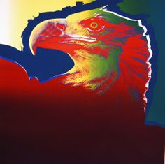 Andy Warhol: Bald Eagle (from Endangered Species), 1983