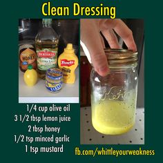 #cleansaladdressing #easysaladdressing by far my favorite home made dressing!