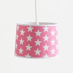 Kids\' Lampshade (Ceiling) - Pink Star