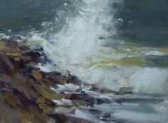 A small seascape study 12x16