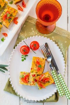 Spanish-Style Slow Cooker Breakfast Frittata