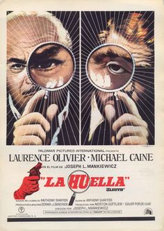 La Huella (Sleuth), de Joseph L. Mankiewicz, 1972