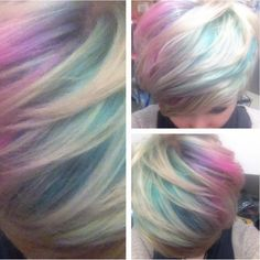 How To: Iridescent, Opal & Oil Slick Hair! - Glam Express