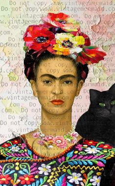 Frida Kahlo Artwork, Frida Kahlo Fabric, Frida Kahlo Portraits, Kahlo Paintings, Frida Art, Frida E Diego, Art Altéré, Freida Kahlo, Mexican Artists