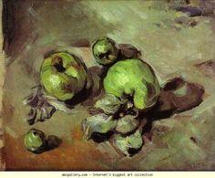 Paul Cézanne. Green Apples. Olga's Gallery.