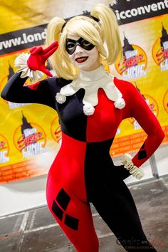Harley Quinn - Enji Night - London Super Comic Con 2016 - Photo by Geeks are Sexy
