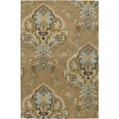 Rizzy Home Volare VO1683 Rug - (2 Foot 6 Inch x 8 Foot), Beige