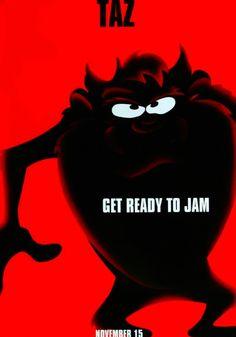 SPACE JAM  Taz Space Jam baf9904492b5