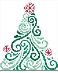 Art Deco Tree 3 christmas cross stitch chart designed by Cross Stitch Wonders Regular retail price stitched on fabric of your choice stitch count x * * * * * * * * * * * * If you have a favorite Cross Stitch Wonders pattern. Xmas Cross Stitch, Cross Stitch Bookmarks, Cross Stitch Borders, Cross Stitch Charts, Cross Stitch Designs, Cross Stitching, Cross Stitch Embroidery, Christmas Cross Stitch Patterns, Hand Embroidery