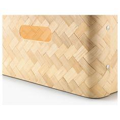 IKEA - BULLIG Box bamboo