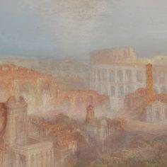 Modern Rome-Campo Vaccino | Joseph Mallord William Turner, English, (1839) |  36 1/8 x 48 1/4 in.