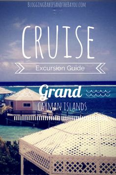 Cruise Excursion Guide: A Day at Grand Cayman Island Cruise Excursions, Cruise Destinations, Cruise Port, Cruise Travel, Cruise Vacation, Disney Cruise, Vacation Trips, Cruise Tips, Vacations