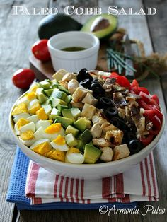 Armonia Paleo: Paleo Cobb Salad