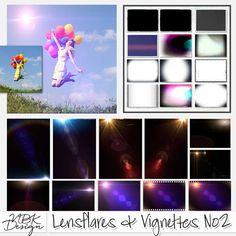 <p> Lensflares & Vignettes No2 by NBK-Design</p>