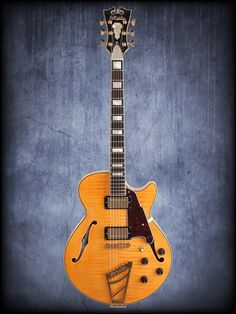 Dangelico EXSS Semihollow Guitar with Case