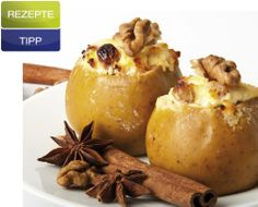 Stuffed Baked apples are a delicious to have at your table especially when Autumn comes around.The warm flavors and spices used Keto Foods, Apple Recipes, Keto Recipes, Cooking Tips, Cooking Recipes, Baked Apples, Baked Potato, Spices, Good Food