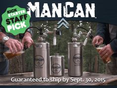 ManCan - Put a Brewery of Beer In Your Fridge, Not a Growler - BackerKit