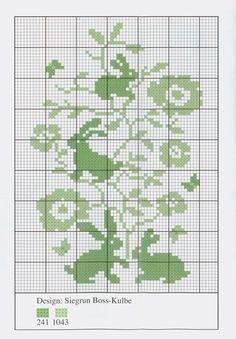 cross-stitching chart